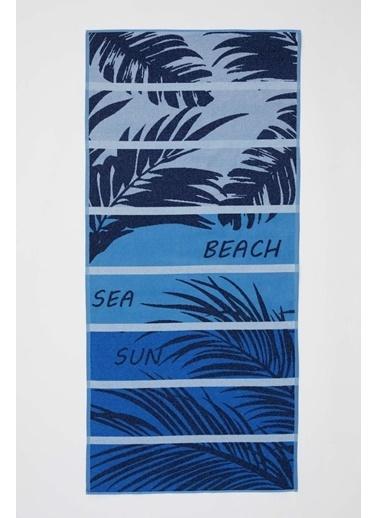 DeFacto Plaj Havlusu Mavi